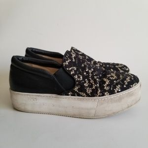 No. 21 Platform Lace Slip-On Sneakers 37